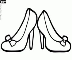find this pin and more on thema moederdag high heel shoes coloring pages