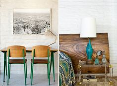 love those shades of green, The Abernathy House via Honestly WTF