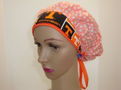 Elegant Handmade-Bouffant Cap-Medical Scrub-Woman-100% Cotton  This style has-been designed for Individuals That the hair like to keep