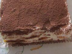 Jedinečný, ľahký dezert po ktorom sa budú všetky deti aj dospelí zalizovať. No Bake Cake, Tiramisu, Food And Drink, Butter, Treats, Ethnic Recipes, Cooking, Sheet Cakes, Dessert Ideas