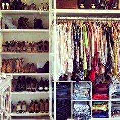 21 Brilliantly Organized Closets That Will Make You Want To Clean