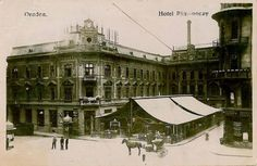 Oradea, Hotel, restaurant Rimonoczy - anii '20 Old Photos, Louvre, Restaurant, Country, Building, Places, Travel, Hotels, Old Pictures