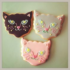 kitty cat cookies