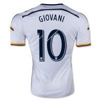 b14799bf5e0 LA Galaxy 2015-2016 Season GIOVANI  10 Home Soccer Jersey Soccer Uniforms