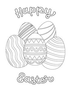 Free Printables For Kids   Easter Activities   Easter Eggs