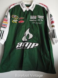 NWOT NASCAR Dale Earnhardt Jr. AMP National Guard PIT CREW STYLE SHIRT XXL #253 #JRNATION #JRMotorsports