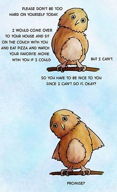 Be Nice to Yourself! This made me tear-up.. right in the feels!