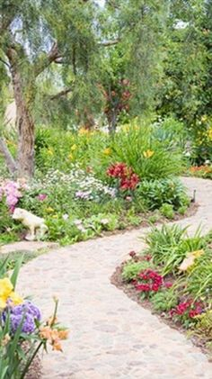 Outdoor Pathways landscape/yard with ms international pavers california gold, dome
