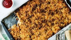 Edulliset arkiruoat - Yhteishyvä Oven Cooking, Lasagna, Banana Bread, Macaroni And Cheese, Food And Drink, Pasta, Dishes, Baking, Breakfast