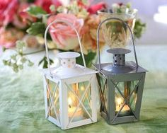 potential wedding centerpieces (pic) thoughts? suggestions? :  wedding coral center pieces Mini.lanter