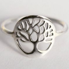 Sterling Silver Tree of Life Intention ring, Yggdrasil, Sacred Viking Celtic symbol, Norse mythology Wold Tree Divine Tree of the Cosmos by HeartCoreDesign on Etsy https://www.etsy.com/listing/112727583/sterling-silver-tree-of-life-intention