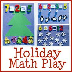 holiday and christmas math