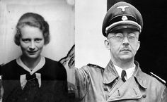 Hedwig Pottas, lover and private Secretary of Heinrich Himmler, head of the SS To become pregnant her lover got him a luxury House in Berlin. He became a crumb of the Borman family which served at home, where was warmly a few armchairs made of human bones. He committed suicide in 1945 and she died of a heart attack in 1994.