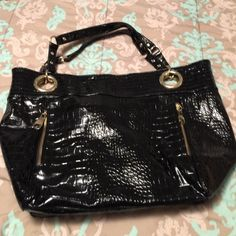 Steve Madden black bag New only worn once very good condition Steve Madden Bags