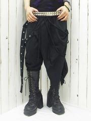 Layer-Like Pants w/ Belts / See more at http://www.cdjapan.co.jp/apparel/new_arrival.html?brand=DRT #harajuku #Japan punk