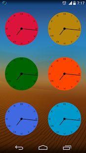 Flat Clock Pack for Zooper. https://play.google.com/store/apps/details?id=com.deep.zwskin.flatanalock.clockpack