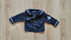 Sailor Suit Boy, Sailor Suit Baby, Sailor Outfit Boy, Sailor Jacket, Anchor, Long Sleeve Outfit, Brass Buttons, DHL delivery available by VinciBazaar on Etsy