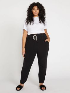 Plus Size Teen, Look Plus Size, Plus Size Pants, Plus Size Casual, Plus Size Style, Casual Plus Size Outfits, Trendy Outfits, Cool Outfits, Loungewear Outfits