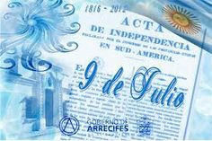 The 9th of July, Argentina celebrates dia de la independencia aka independence day.They celebrate this day in freedom of Spain in 1816.