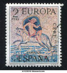 mosaic stamp of Espana
