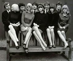 """Fashion ladies - Lately I've been really interested in fashion, especially Swinging London fashion. In this post I'll focus on London fashion and I'll write about Parisian chic """"baby d… 60s And 70s Fashion, Mod Fashion, Fashion Mode, Girl Fashion, Vintage Fashion, Sporty Fashion, Gothic Fashion, Latest Fashion, Fashion Trends"""