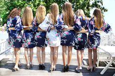 Deep Blue wedding party dresses cheap wedding gifts ladies sleepwear dress…