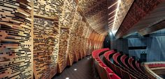 supacoustic custom acoustic panels in theatre