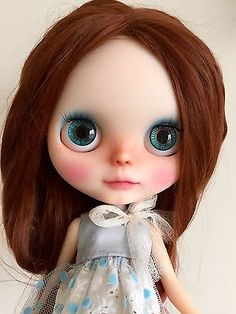 OOAK Blythe doll by Forty Winks Doll Studio's Lassy (translucent RBL)