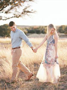 Adare & William / Austin, TX Engagement Session / Fine Art Film Photography / Michelle Boyd