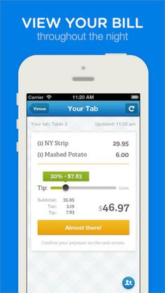 Mobile checkout with Dash (NYC only for now).