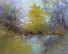 A Sense of Place III, pastel painting, 10x13 inches, landscape bbnewtonartjournal.blogspot.com