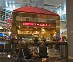 cousins bbq dallas airport - DFW Terminal B and D