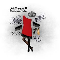 """""""Halloween Costume: Masquerade"""" by dancing-inthe-street on #Polyvore #Masquerade"""