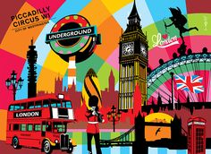 London | Lobo | Pop Art #london #popart www.lobopopart.com