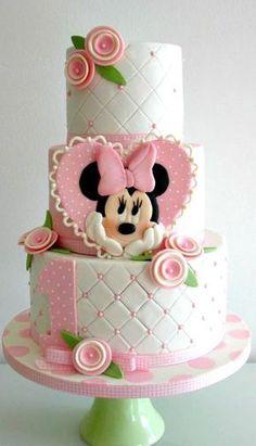 Tartas de Cumpleaños - Birthday Cake - Minnie Mouse Cake