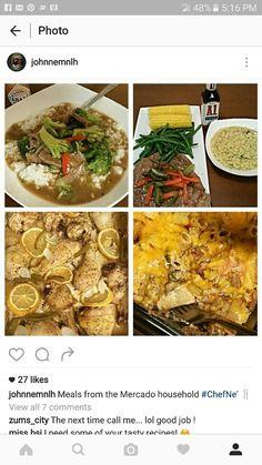 Zita bake.. beef and broccoli.. peppered steak.. lemon pepper drumsticks