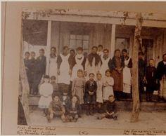 First elementary school in San Fernando, circa 1885 :: San Fernando Valley History