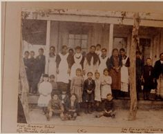 First elementary school in San Fernando, circa 1885 :: San Fernando Valley History