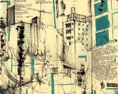 Robert Scholten : Art: Moleskine: NYC drawings part 1