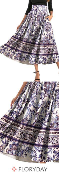 Femme Noir Crème Motif nouveau Côté SPLIT Maxi Jupes Femmes Tailles 12,14,16,18,20