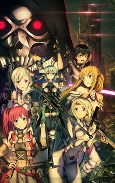 Sword Art Online: Fatal Bullet Shows New and Familiar Characters in New Screenshots Arte Online, Kunst Online, Online Art, Sao Online, Tous Les Anime, Sao Ggo, Kirito Asuna, Sword Art Online Wallpaper, Loli Kawaii