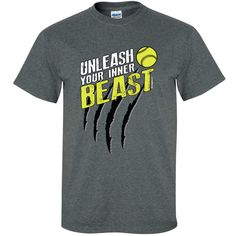 Image Sport - Unleash Your Beast Softball Shirt from Aries Apparel-$18.00