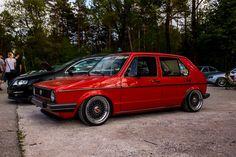 Volkswagen Golf Mk1, Vw Mk1, Classic Golf, Modern Classic, Car Goals, Golf 1, Hot Cars, Custom Cars, Cars And Motorcycles