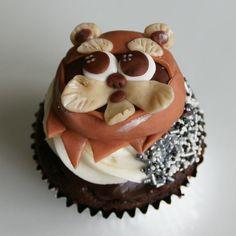 Ewok cupcake by Mili's Sweets