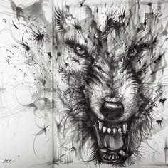 drawing art by HuaTunan