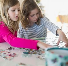 From Highlights magazine, What is the value of children doing jigsaw puzzles?