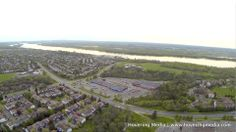Orleans and Ottawa River, from 400 feet.