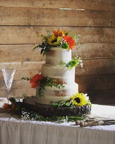 8 and 10 inch tiers. Barn Wedding Cakes, Wedding Day, 10 Inch Cake, Wedding Ideas Board, Grand Lake, Cake Makers, Tiered Cakes, Cheers, Naked