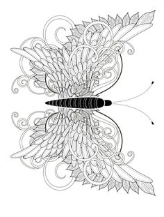 insect adult coloring page free printable pic