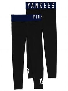PINK New York Yankees Yoga Legging #VictoriasSecret http://www.victoriassecret.com/pink/new-york-yankees/new-york-yankees-yoga-legging-pink?ProductID=106503=OLS?cm_mmc=pinterest-_-product-_-x-_-x